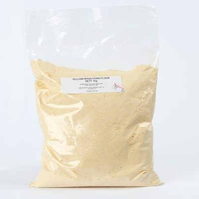 yellow masa corn flour