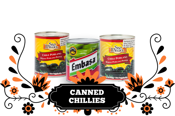 Canned Chillies