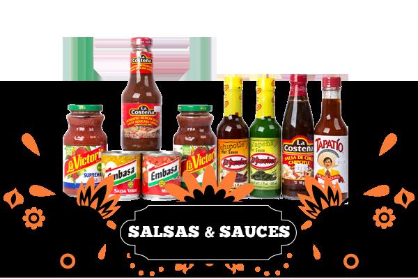 salsas n sauces