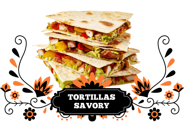 Savoury Tortillas
