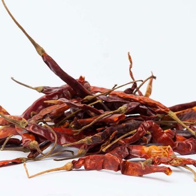 DRIED CHILLI ARBOL - 4.5kg box