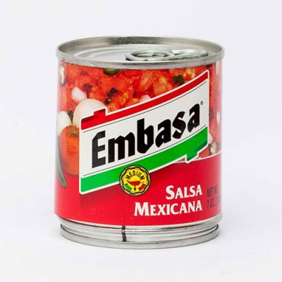 SALSA MEXICANA (RED) - 6 x A10 cans