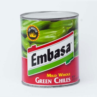 WHOLE GREEN CHILES (MILD) - 12 x 765gm Cans