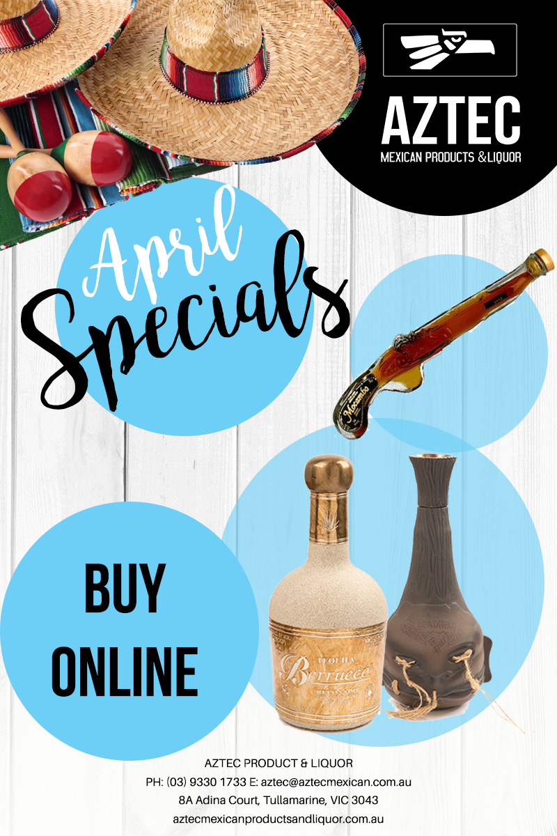 Aztec Mexican Liquor Specials