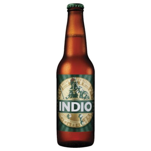 Indio Beer from Aztec Mexican