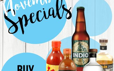 November Monthly Specials – Online Mexican Products for the Party Season!