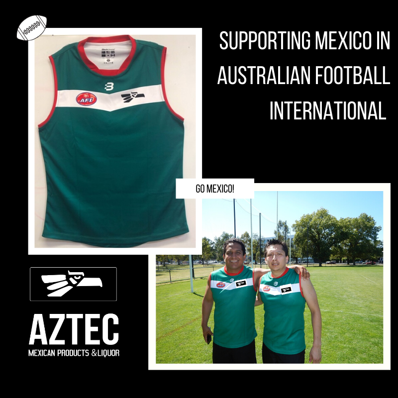 Aztec Mexican Products and Liquor - Aztecs Supports Australian Football International