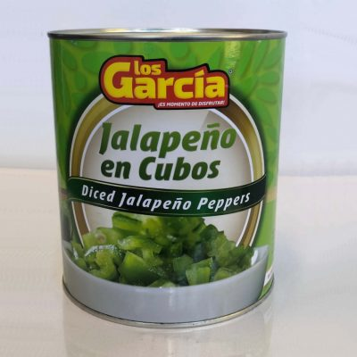 Los Garcia Diced Jalapeno Peppers - Tin